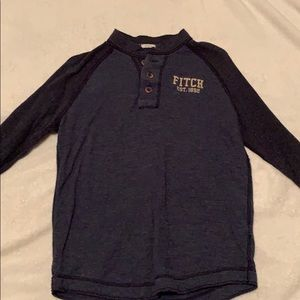 Abercrombie and Fitch button up medium sleeve